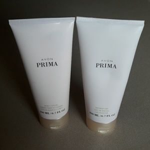 Avon Prima Body Lotion and Shower Gel
